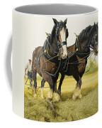 Farm Horses Coffee Mug