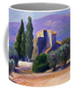 Farm House In Provence Coffee Mug