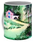 Farm House New Coffee Mug by Anil Nene
