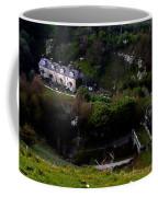 Farm Land In The Peak District In Great Britain Coffee Mug
