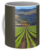 Farm Lands Of The Central Coast By Diana Sainz Coffee Mug