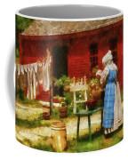 Farm - Laundry - Washing Clothes Coffee Mug