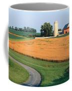 Farm Nr Mountville Lancaster Co Pa Usa Coffee Mug