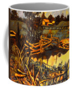 Farm Pond Reflections Coffee Mug