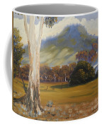 Farm With Large Gum Tree Coffee Mug
