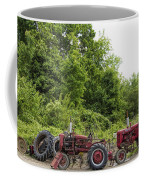 Farmall Tractors All In A Row Coffee Mug