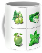 Farmers Market Gifts Green Vitamins Coffee Mug