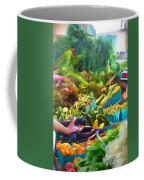 Farmer's Market Produce Stall Coffee Mug