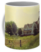 Farmhouse And Landscape Coffee Mug