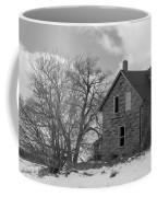 Farmhouse Black And White Coffee Mug
