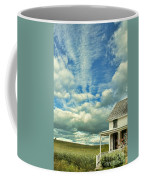 Farmhouse By Cornfield Coffee Mug