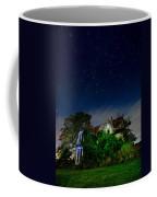 Farmhouse Star Trails.  Coffee Mug