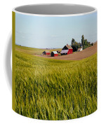 Farmlands Near Davenport Coffee Mug