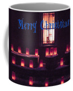 Farolitos Or Luminaria Below Window 1-2 Coffee Mug
