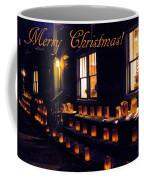 Farolitos Or Luminaria Below Window 3-2 Coffee Mug