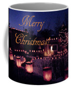 Farolitos Or Luminaria On Wall 2-2 Coffee Mug
