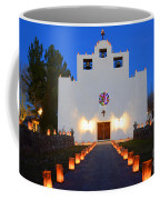 Farolitos Saint Francis De Paula Mission Coffee Mug