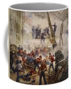 Farragut On The Hartford At Mobile Bay Coffee Mug