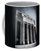 Farrington Field Facade Bw Coffee Mug