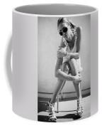 Fashion Instinct Bw Palm Springs Coffee Mug by William Dey