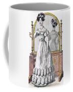 Fashion Plate Of A Lady In Evening Coffee Mug