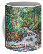 Fast Water Wildwood Park Coffee Mug by Kendall Kessler