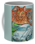 Fat Cat And The Bentley Coffee Mug
