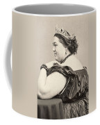 Fat Lady, 19th Century Coffee Mug
