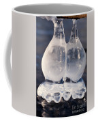 Fat Twin Icicles Over Water Surface Coffee Mug