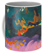 Fatata Te Miti.by The Sea Coffee Mug