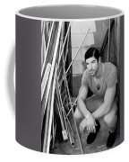 Faubourg Alley Man Bw Coffee Mug