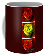Fauvism Roses Triptych Coffee Mug