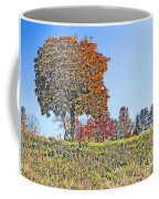 Favoring The Fall Colors Coffee Mug