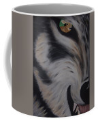 Fawn In A Red Wolf's Eye Coffee Mug