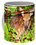 Fawn In The Forest - Inspirational - Religious Coffee Mug