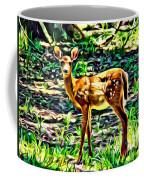 Fawn In The Woods Coffee Mug