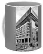 Fbi Building Rear View Coffee Mug