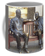 Fdr And Churchill Having A Chat In London Coffee Mug