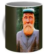 Fear The Beard Golfer Coffee Mug