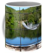 Feather And Fence Coffee Mug