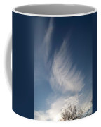 Feather Cloud  By Diane Schiabor Coffee Mug