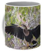 Feather Drying Coffee Mug