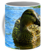 Feathered Female Coffee Mug
