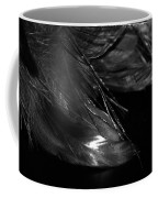 Feathers In Black And White Coffee Mug