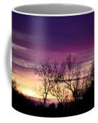 February's Dramatic Sunrise Coffee Mug