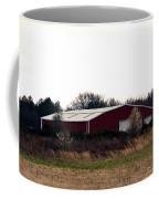 February's Red Barn Coffee Mug