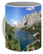 Fedaia Pass With Lake Coffee Mug