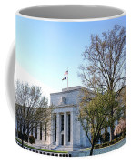 Federal Reserve Building Coffee Mug by Olivier Le Queinec