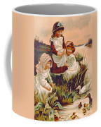 Feeding Ducks Coffee Mug