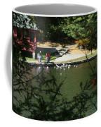 Feeding Ducks Coffee Mug